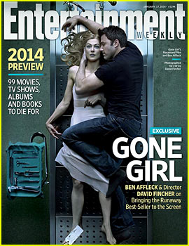 Ben Affleck Curls Up with Lifeless Rosamund Pike in 'Gone Girl' 'EW' Cover