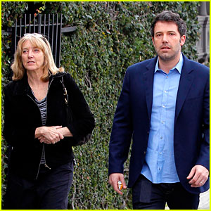 Ben Affleck is a Momma's Boy, Takes His Mom to the Theater!