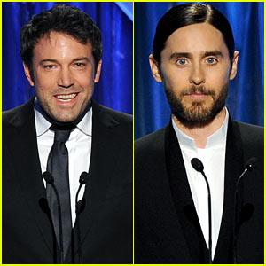 Ben Affleck & Jared Leto - Producers Guild Awards 2014