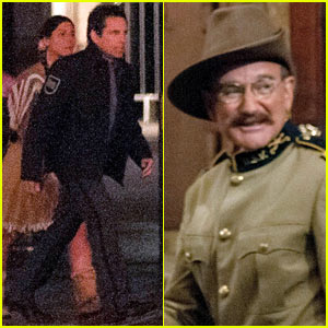 Ben Stiller & Robin Williams Take On London for 'Night at the Museum 3'!