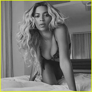 Beyonce Dons Black Bra for 'Self-Titled Part 5 . Honesty' Video!