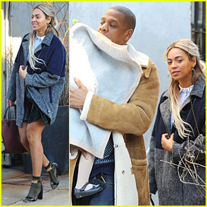 Beyonce & Jay Z: Lunch After Michelle Obama's Birthday Party!