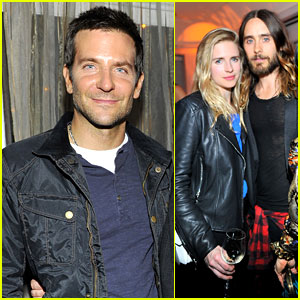 Bradley Cooper & Jared Leto: Early Golden Globes Celebrations!