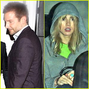 Bradley Cooper & Suki Waterhouse: Critics' Choice Dinner Party!