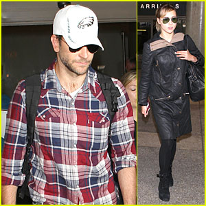 Bradley Cooper & Suki Waterhouse: LAX Arrival in the New Year!