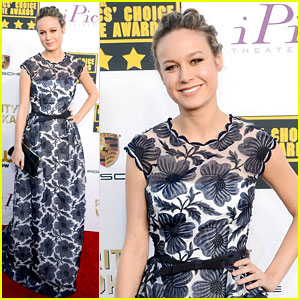 Brie Larson - Critics' Choice Movie Awards 2014 Red Carpet