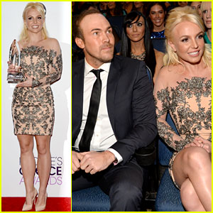 Britney Spears: People's Choice Awards 2014 with David Lucado!