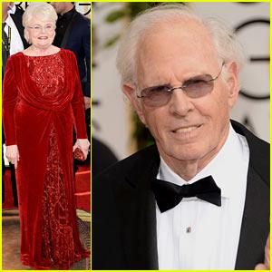 Bruce Dern & June Squibb - Golden Globes 2014 Red Carpet