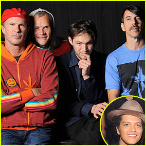 Bruno Mars: Red Hot Chili Peppers Join 'Super Bowl' Halftime Show!