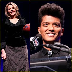Bruno Mars: Super Bowl 2014 Press Conference! (Full Video)