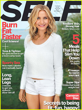 Cameron Diaz: Just Cause You Can Chew It & Swallow It Doesn't Mean It's Food!