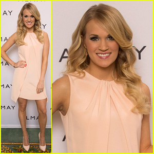 Carrie Underwood Welcomes Almay to Nashville!
