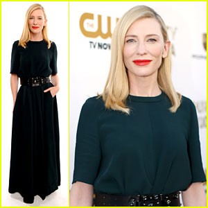 Cate Blanchett - Critics' Choice Movie Awards 2014 Red Carpet