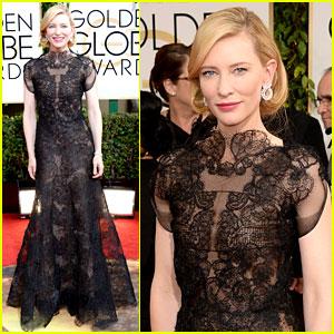 Cate Blanchett - Golden Globes 2014 Red Carpet