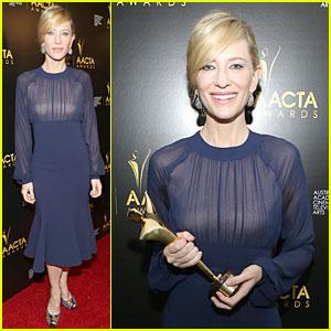 Cate Blanchett Wins Best Actress at AACTA Awards 2014!