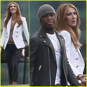 Celine Dion & Ne-Yo: 'Incredible' Music Video Shoot!