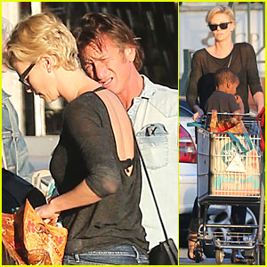 Charlize Theron Bares Her Back for Sean Penn!