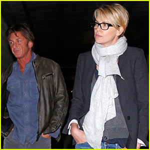 Charlize Theron & Sean Penn: Movie Date at ArcLight!