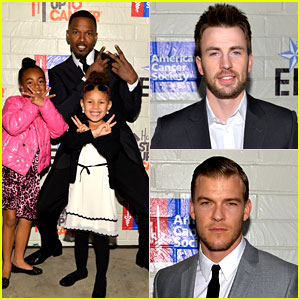 Chris Evans & Jamie Foxx: Hollywood's Hunks Fight Cancer!