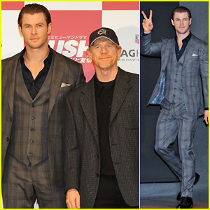 Chris Hemsworth: 'Rush' Tokyo Press Conference!