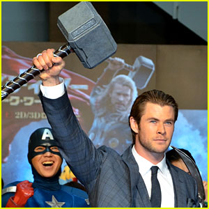 Chris Hemsworth: 'Thor: The Dark World' Tokyo Premiere