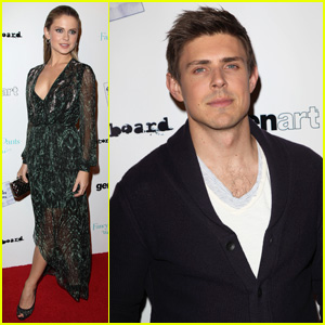 Chris Lowell & Rose McIver: 'Brightest Star' Premiere!