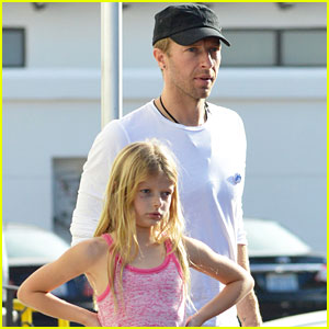 Chris Martin: Father-Daughter Day with Apple!