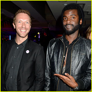 Chris Martin: Grammys 2014 After Party with Gary Clark, Jr.!