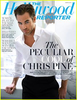 Chris Pine Reveals Political Affiliations in THR's New Issue