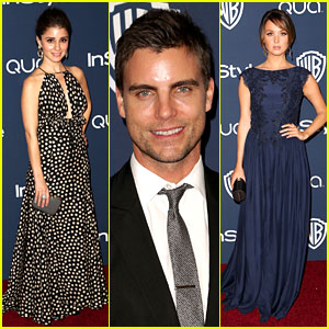 Colin Egglesfield & Shiri Appleby - InStyle Golden Globes Party 2014