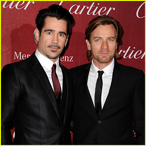 Colin Farrell & Ewan McGregor: Palm Springs Festival Fun!