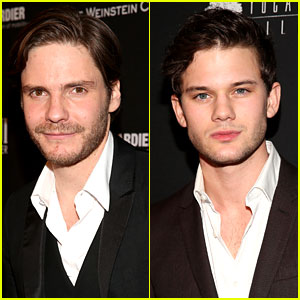 Daniel Bruhl & Jeremy Irvine - Weinstein Golden Globes Party 2014