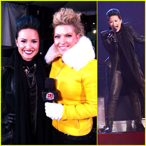 Demi Lovato Performs for ET Canada on New Year's Eve 2014!