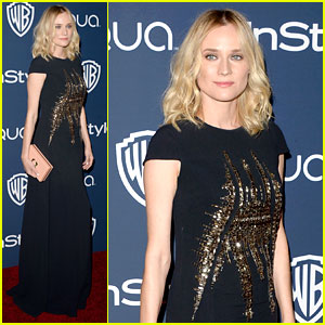 Diane Kruger - InStyle Golden Globes After Party 2014