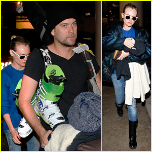 Diane Kruger & Joshua Jackson: Late Night LAX Arrival