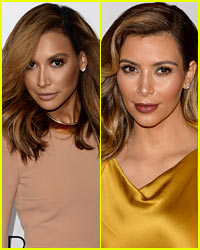 Do You Think Naya Rivera & Kim Kardashian Look Alike?
