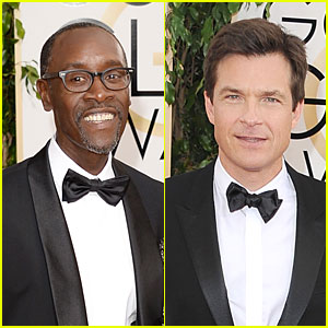 Don Cheadle & Jason Bateman: Golden Globes 2014 Nominees
