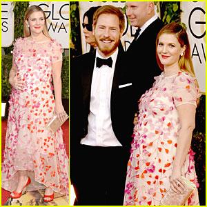 Drew Barrymore & Will Kopelman - Golden Globes 2014