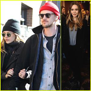Elizabeth Olsen Hangs with Boyd Holbrook at Sundance