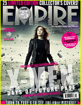 Ellen Page: New 'X-Men' Cover for 'Empire'!