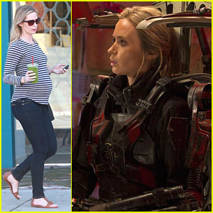 Emily Blunt: New 'Edge of Tomorrow' Still with Tom Cruise!