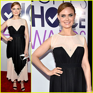 Emily Deschanel - People's Choice Awards 2014 Red Carpet