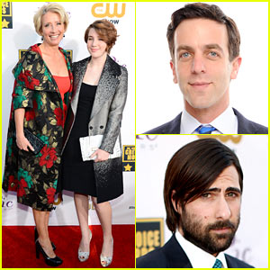 Emma Thompson - Critics' Choice Awards 2014 Red Carpet