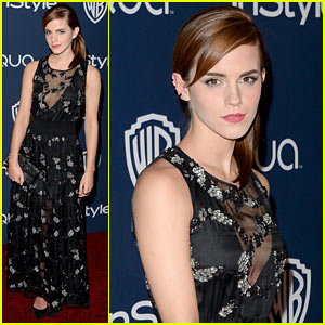 Emma Watson - InStyle Golden Globes Party 2014