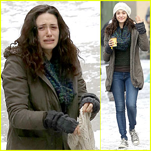 Emmy Rossum: Crying Scenes for 'Shameless' Season Four!