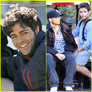 'Entourage' Movie Begins Filming in Miami - Set Photos Here!