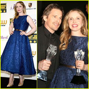 Ethan Hawke & Julie Delpy Win at Critics' Choice Awards 2014