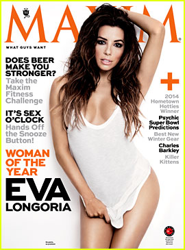 Eva Longoria: Maxim's Woman of the Year 2014!