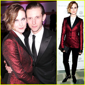 Evan Rachel Wood & Jamie Bell - Art of Elysium Heaven Gala