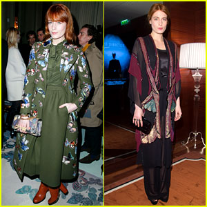 Florence Welch: Valentino Fashion Show in Paris!